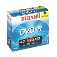 <strong>Maxell Corp. Of America</strong> DVD-R Disc, 4.7GB, 16x