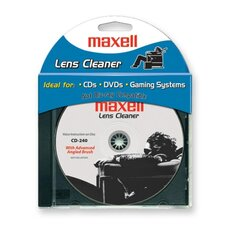 Lens Cleaner for CDs/DVDs/Game Systems, Blue