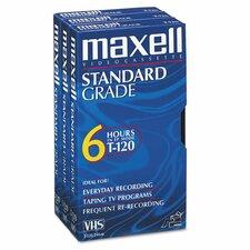 Gx-Silver VHS Videotape Cassette (Set of 3)