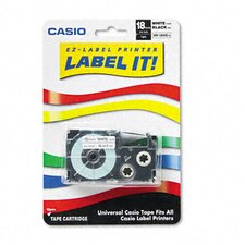 "Tape Cassette For Kl Label Makers, 3/4"" X 26Ft"