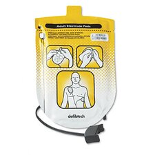 <strong>Defibtech</strong> Adult Defibrillation Pads, For Adult Use Only (8 Years. Or Older), 1 Pair