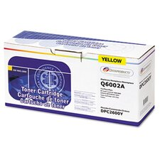 DPC2600Y (Q6002A) Remanufactured Laser Cartridge, Yellow