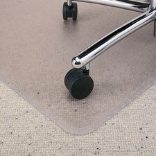 <strong>E.S. ROBBINS</strong> All PileMat High Pile Carpet Beveled Edge Chair Mat