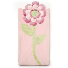 Flower Plush Changing Pad Cover