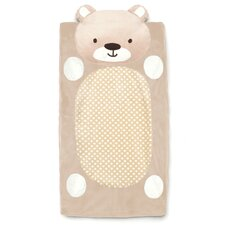Bear Plush Changing Pad Cover