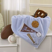 <strong>CoCaLo Baby</strong> Sports Fan Sherpa Blanket