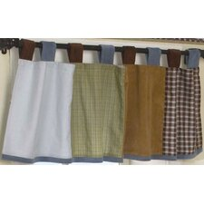 Sports Fan Tab Top Tailored Curtain Valance