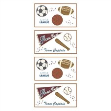 <strong>CoCaLo Baby</strong> Sports Fan Removable Wall Appliques