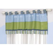 Turtle Reef Tab Top Tailored Curtain Valance