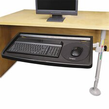 Snaplock Adjustable Keyboard Tray with Smartfit System