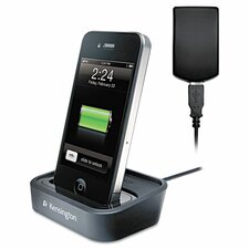 <strong>Kensington</strong> Charge and Sync Dock with Wall Adapter for iPhone