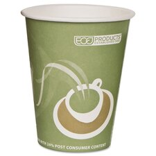 Evolution World Hot Drink Cups, 12 Oz., 1000/Carton