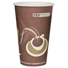 Evolution World Hot Drink Cups, 16 Oz., 1000/Carton