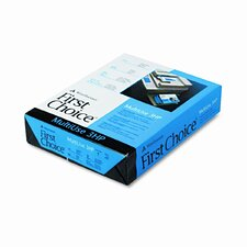Multiuse Premium Paper, 3-Hole Punch, 98 Brightness, 24Lb, Letter, 500/Ream