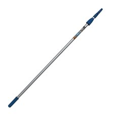 Aluminum 2-Stage Telescopic Pole with Connect and Clean Locking Cone and PRO Locking Collar