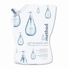 Method® Gel Handwash Refill Sweet Water Scent Pouch - 34-oz.
