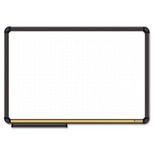 <strong>The Board Dudes</strong> Dry Erase Board, Cork Inset Frame, 48 x 36, Black
