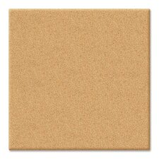 "Cubicle Cork Canvas 1' 2"" x 1' 2"" Bulletin Board"