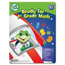 Leap Frog Ready for 1st Grade Math Workbook (Set of 24)