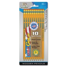 No. 2 Pre-sharpened Pencils (10 Pack)