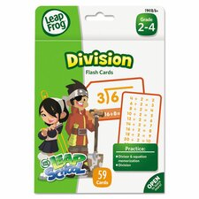 Leapfrog Division Flash Card