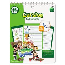 Leapfrog Dry Erase Cursive Activity Book