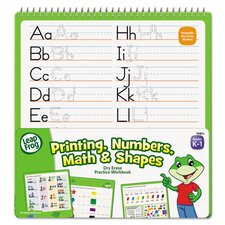 Leapfrog Dry Erase Printing, Numbers, Math and Shapes Activity Book