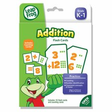 Leapfrog Addition Flash Card