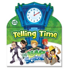 Leapfrog Dry Erase Tell Time Book
