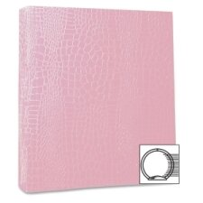 "Proformance Crocodile Embossed Ring Binder, 1"" Capacity"