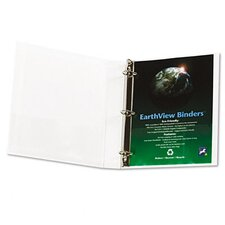 "Earthview D-Ring Presentation Binder, 1"" Capacity"