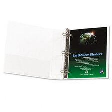 "Earthview D-Ring Presentation Binder, 1-1/2"" Capacity"