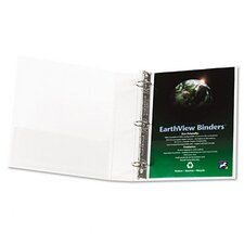 "Earthview Round Ring Presentation Binder, 1-1/2"" Capacity"