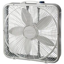 "20"" Premium Box Fan with Wind Ring"