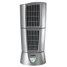 "Lasko Platinum Desktop Wind Tower® 6"" Oscillation Tower Fan"