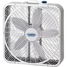 "<strong>Lasko</strong> 20"" Weather Shield Performance Box Fan"