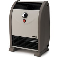 750 Watt Fan Forced Compact Space Heater with Thermostat