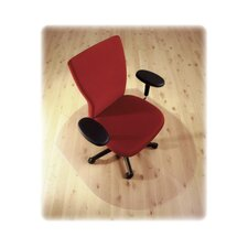 <strong>Floortex</strong> Cleartex Hard Floor Contoured Chair Mat