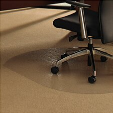 <strong>Floortex</strong> Cleartex Ultimat Low/Medium Pile Carpet Straight Edge Chair Mat