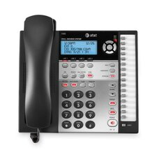 Corded Four-Line Expandable Telephone, Caller Id and Answering Machine