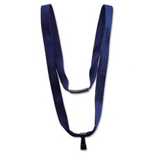 "Advantus Earth-Friendly Lanyard, J-Hook Style, 36"" Long, 10/Pack"
