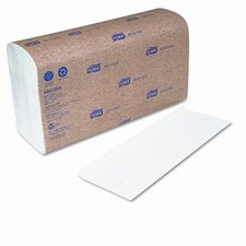 Tork Multi-Fold Towel, 9-1/2 X 9-1/8, 1-Ply, 250/Pack, 16 Packs/Carton