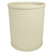Chelsea Decorator Round Wicker Wastebasket