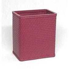 Chelsea Decorator Color Square Wicker Wastebasket