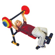 Fun and Fitness Kids Weight Bench