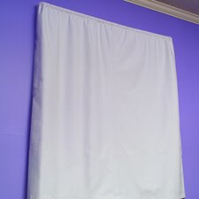 Nightime Nursery Drapery Liner Total Light Control Block Out Shade Coated Tailored Curtain Valance Single Panel