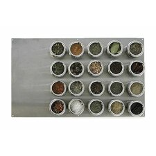 Soho 21-Piece Stainless Steel Container and Large Board Set