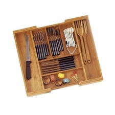 <strong>Lipper International</strong> Bamboo Expandable Flatware Organizer