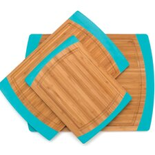 <strong>Lipper International</strong> Bamboo Non Slip Cutting Board (Set of 3)