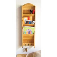 Bamboo 3 Tier Vertical Letter Holder